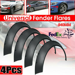 Universal Flexible 840mm Car Fender Flares Extra Wide Body Wheel Arches Usa 4x