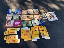 Vtg Collection 1970's Kodak Signs Posters Store Displays Kodachrome Film Etc