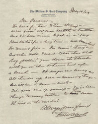 William S. Hart - Autograph Letter Signed 05/14/1929