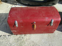 1930s Cadillac Duesenberg 39 1/2 Luggage Trunk No Suitcases With Key