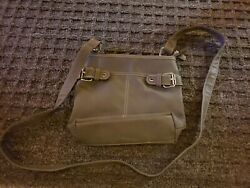 GRAY CROSSBODY GIRLS PURSE $14.00