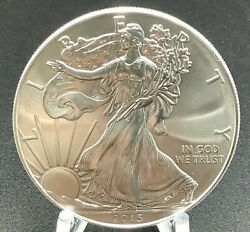 2015 American Eagle 1 Ounce Coin .999 Silver US Eagle Brilliant Uncirculated $31.75