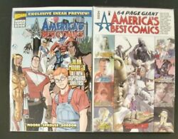 America#x27;s Best Comics 64 Page Giant amp; Wizard Preview Alan Moore Tom Strong SBX4