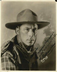 William S. Hart - Inscribed Photograph Signed