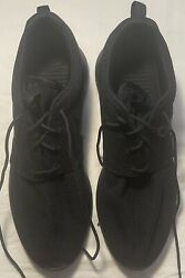 Men's NIKE Roche All Black Shoes Size 12 FREE SHIPPING