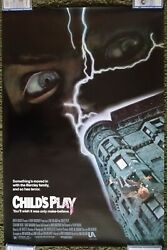 Child's Play 1988 Original One 1 Sheet Horror Movie Poster Brad Dourif Rolled