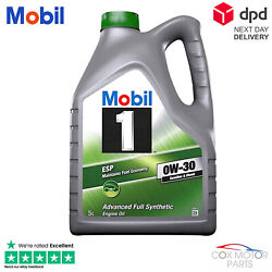 Mobil 1 Esp 0w30 Fully Synthetic Engine Oil 5 Litres 5l