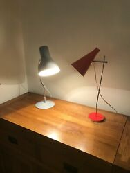 A Pair Of 1960s - 70s Josef Hurka Desk Lamps By Lidokov
