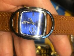 Roberto Cavalli Rotated Face Watch Water Resistant Stainless Steel Case