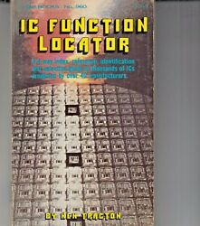 Ic Function Locator Soft Cover Book Ken Traction - 1978 - Cmos Etc