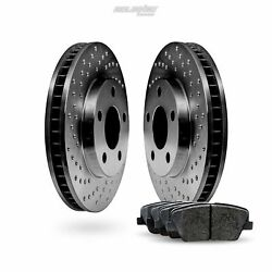 [front] Black Cross-drilled Rotors And Ceramic Pads Bbxf.66030.02