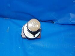 1930's 1940's Original Vintage Accessory Fog Light Switch Chevy Ford Flat Head