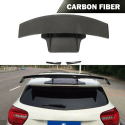 For Benz W176 A180 A200 A45amg 13-18 Rear Roof Spoiler Window Wing Carbon Fiber