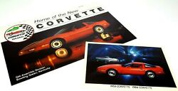 Corvette Gm Assembly Plant Bowling Green Ky Home Of Corvette Post Card 1984 1985