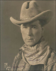 William S. Bill Hart - Inscribed Photograph Signed