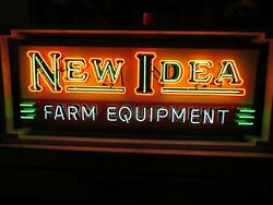New New Idea Farm Equipment Sign 72w X 24h - Neon Signs - Free Delivery