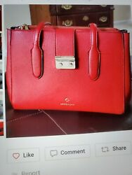 red purses and handbags leather $34.00