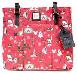 New Disney Dooney And Bourke Christmas Holiday 2019 Passholder Tote Bag Purse H