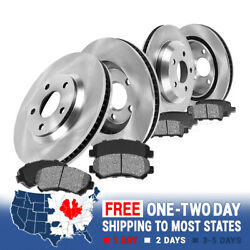 Front And Rear Brake Disc Rotors And Metallic Pads For E46 323ci 323i 325i 328i