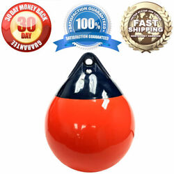 Mooring Marking And Anchoring Inflatable Ultra Durable Buoy 15 Diameter X 19.5h