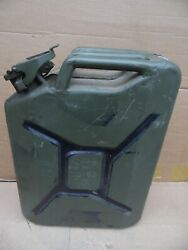 Jeep Style 5 Gallon Military Army Green Jerry Can Gas Gasoline Tank Sea 10-53