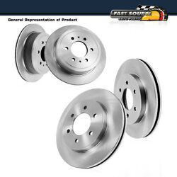 Front And Rear Premium Oe Brake Rotors For 2010 - 2013 Nissan Patrol