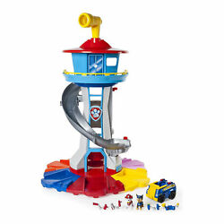 Paw Patrol My Size Tower with Vehicle Lights and Sounds Ages 3 and Up Open Box
