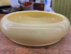 Garden City Pottery Hand Thrown Bowl By Royal Hickman Yellow Pristine