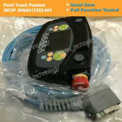 Abb Paint Teach Pendant 3hna012283-001 Irc5p Full Tested In Good Condition Ml