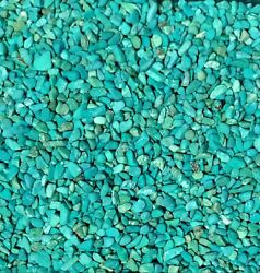 Turquoise Gemstone Chips Nugget No Hole Undrilled Bottles Jewelry Gem Blue Small