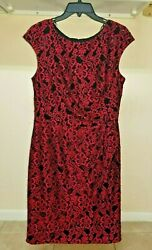 Alex Evening Women#x27;s Sequined Lace Embroidered Dress Size 8 Original Price US180 $19.99