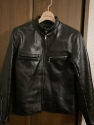The Real Mccoyand039s Single Motorcycle Jacket Black Horsehide Size 36 Used