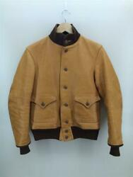Freewheelers A-1 Cossack Jacket Leather Brown Size 38 Used From Japan
