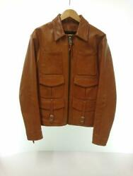 Freewheelers Hipsters Reunion Jacket Camel Leather Size 42 Used From Japan