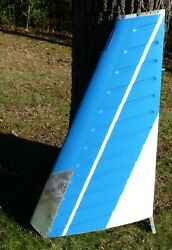 And03973 Piper 6 260 Cherokee Vertical Stabilizer Fin P/n 66975-3 S/n 7500019. Exc