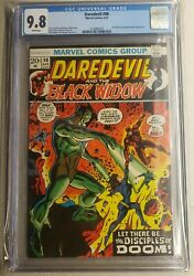Daredevil 98 Cgc 9.8 White Pages Black Widow 1 Of 8