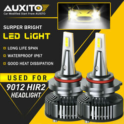 Auxito 9012 Hir2 Led Headlight Bulb 16000lm High Low Beam Cool White Canbus Eoa
