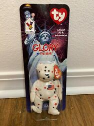 Glory Bear 1997 Ty Beanie Baby With Tag Errors Rare Retired Sealed
