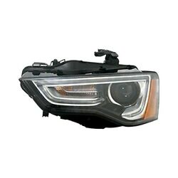 For Audi A5 2013-2016 Replace Au2502181 Driver Side Replacement Headlight