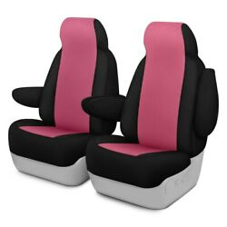 For Mercury Villager 97-02 Neosupreme 2nd Row Pink W Black Custom Seat Cover