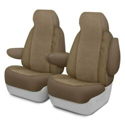 For Ford Courier 72-82 Dash Designs Cool Mesh 1st Row Tan Custom Seat Covers