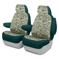 For Ford Courier 72-82 Camo 1st Row Digital Green Custom Seat Covers