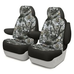 For Toyota Pickup 89-94 Dash Designs Camo 1st Row Winter Custom Seat Covers
