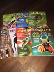 6 Issues BIRDS amp; BLOOM extra Lot Beauty In Your Own Backyard Magazine Flowers