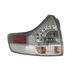 For Toyota Sienna 11-19 K-metal Driver Side Outer Replacement Tail Light
