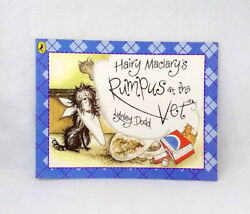 Hairy Maclary's Rumpus At The Vet By Lynley Dodd Used Paperback Picture Book