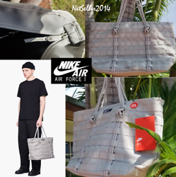 🔥🆕👌UNISEX Nike AF 1 Tote Bag Shoulder Bag Lifestyle Casual Fog BA4989 334 $97.99