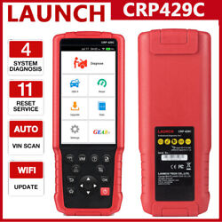 Launch Crp429c Obd2 Scanner Abs Epb Dpf Tpms Immo Injector Reset Diagnostic Tool