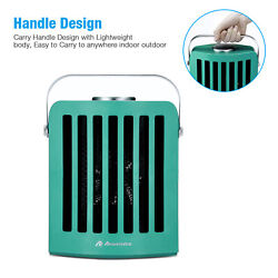Ceramic Electric Heater Home Office Space Heating Portable Fan Silent