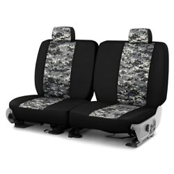 For Chevy El Camino 80-87 Camo™ 1st Row Digital Charcoal With Black Custom Seat